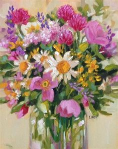 """Daily Paintworks - """"Grace Notes"""" - Original Fine Art for Sale - © Libby Anderson"""