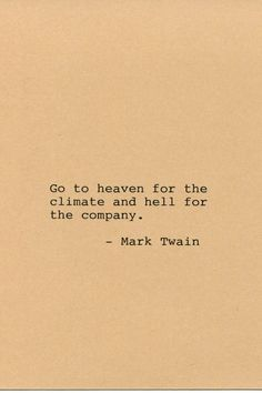 Mark Twain Quote Made on Typewriter Quote by FlightOfFancyPrints