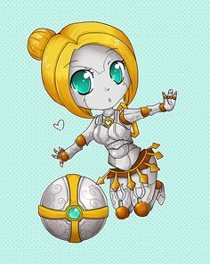 weagueofwegends: Chibi Orianna - League of Legends by linkitty