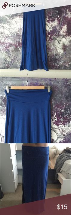 Royal Blue Maxi Skirt Super comfortable!! Not urban Urban Outfitters Skirts Maxi