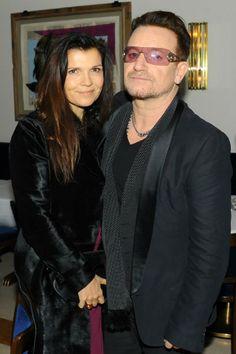 Ali Hewson and Bono from U2 at the Mandela premier New York City - 25 November 2013