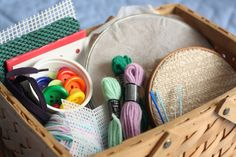 child's sewing basket - happy hooligans