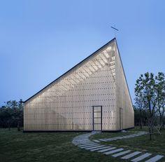 Nanjing Wanjing Garden Chapel by AZL Architects