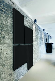 turn down the volume acoustic panels made of perforate stylepark