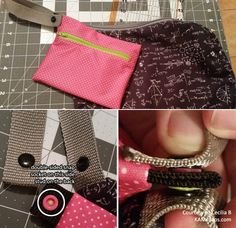 What's a pronged stud? You know that a stud is the male piece of snap. A pronged stud is the same piece, except it has a prong on the bott. Kam Snaps, Wet Bag, Cloth Diapers, Sunglasses Case, Diaper Change, Diapering, Sewing Ideas, Clever, Larger