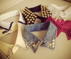 Studded collars on Etsy