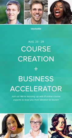 Thinking an online course might be right for you? Join us for our FREE online course business accelerator where 7 experts lead you from ideation to launch explaining HOW to execute our course creation strategy plus a free 30 day follow up program. You'll also get the chance to ask the best in the biz your specific questions with open ended Q&A (cough cough free consulting) at the end of each day. This is perfect for you no matter where you are in your online business. Join us now!
