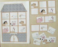 Letölthető állatos feladatlapok és játékok ovisoknak. Printable Worksheets, Printables, Holiday Decor, Animals, Home Decor, Animales, Decoration Home, Animaux, Room Decor