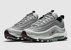 air max 97 og sneaker by Nike. A throwback to the late this limited-edition sneaker boasts a reflective metallic shine sure to catch attention. Air Max 97, Nike Air Max, Air Max Sneakers, Best Sneakers, Sneakers Nike, Ar Max, Basket Style, Air Jordans, Retro Jordans