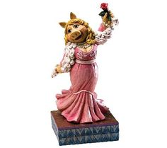 Jim Shore Disney Traditions Miss Piggy Muppet sFigurine