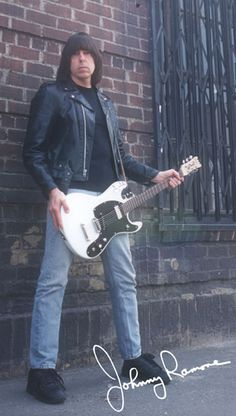 Johnny Ramone (1948 - 2004) Member of the punk band The Ramones