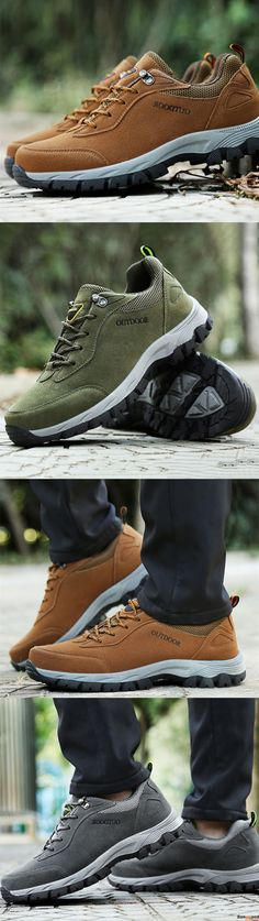 Large Size Men Breathable Wear Resistance Outsole Outdoor Hiking Comfy Athletic Shoes. $45.97 + Free Shipping. Men winter fashion sport style. Warm and chic. Shop at banggood now.