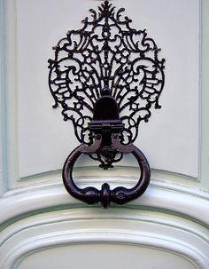 gothic doorknocker
