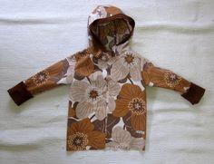 Takki fleecevuorilla Embroidery, Retro, Sewing Ideas, Handmade, Crafts, Hands, Needlepoint, Hand Made, Manualidades