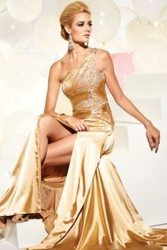Shop our best value Vintage Glamour Dresses on AliExpress. Check out more Vintage Glamour Dresses items in Weddings & Events, Women's Clothing, Shoes, Novelty & Special Use! And don't miss out on limited deals on Vintage Glamour Dresses! Gold Evening Dresses, Gold Prom Dresses, Cheap Prom Dresses, Satin Dresses, Homecoming Dresses, Evening Gowns, Formal Dresses, Gold Dress, Dress Prom
