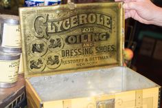 From the General Store Museum in Philly. Amazing old school type.