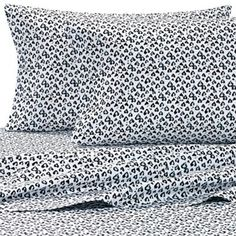 Luv Betsey by Betsey Johnson® Wild Hearts Sheet Set in White - www.BedBathandBeyond.com
