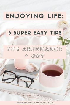 We've all tried to multi-task to fit more in. But in reality, we usually end up doing several things poorly rather than one thing well. Let's slow down and enjoy life more! The good news? It leads to more abundance, joy AND greater productivity.   Try these 3 super easy tips to get started.