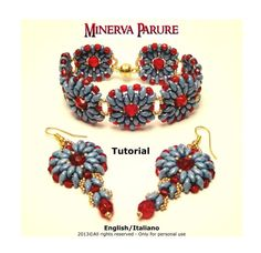Tutorial Minerva Parure  Instant download PDF di FucsiaStyle