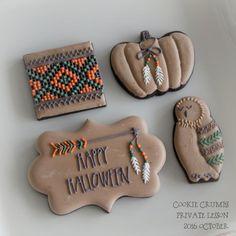 10/14プライベートレッスン・レポート | ~Cookie Crumbs~クッキー・クラムズのアイシングクッキー