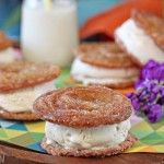 Churro Ice Cream Sandwiches - tried it, these are like the greatest thing ever.