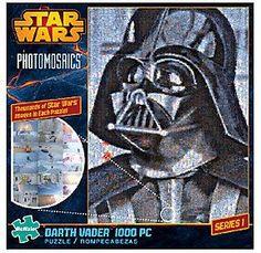 Star Wars Photomosaics Darth Vader 1000-Piece Puzzle | star wars | puzzle | gift idea | ad |