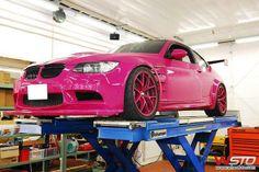 Pink BMW !