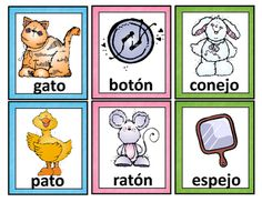 Spanish Rhyming Words. Tarjetas de palabras que riman from Mrs. G. Dual Language on TeachersNotebook.com - (17 pages) - A set of 50 pairs of rhyming cards in Spanish. These cards can be used for bulletin boards or word walls, for instruction, or for practice in small groups and literacy stations. They are ideal for bilingual and dual language classrooms and for Spanish lan
