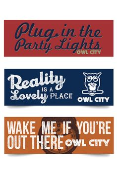 Lyrics Series Bumper Stickers
