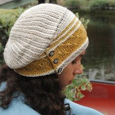 Olana Slouch Hat by Grace Akhrem Pattern