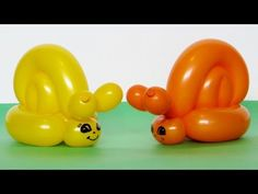 One balloon snail - twisting tutorial (Subtitles) One Balloon, Balloon Flowers, Balloon Columns, Boy Birthday Parties, Birthday Balloons, Minnie Mouse Balloons, Sunday School Crafts For Kids, Qualatex Balloons, Balloon Modelling