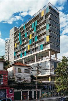 Edifício Pop, na Vila Madalena, em São Paulo