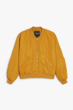 A classic bomber jacket with a bit of a sheen to it, this fly number has…