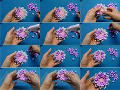 How to Make Kanzashi Ribbon Flower | UsefulDIY.com