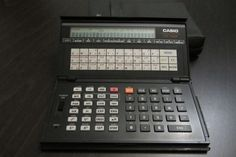 CASIO fx 795P PROGRAMMABLE VINTAGE CALCULATOR  WORKS PERFECTLY