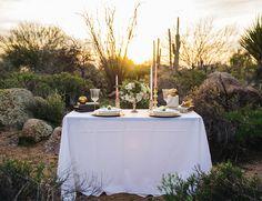 Scottsdale elopement at sunset