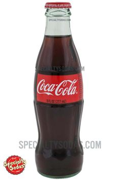 Coca-Cola 8oz Glass Bottle