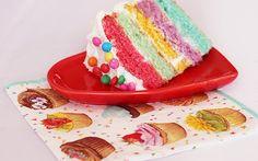 Aprenda a fazer um bolo arco-íris! - Diversão - CAPRICHO