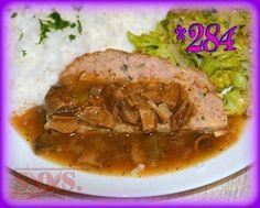 Sos z suszonych grzybów Pork, Gluten, Beef, Kale Stir Fry, Meat, Pork Chops, Steak