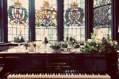 Wow! Flowers for a wedding in my family's ancestral home...Samlesbury Hall in Lancashire