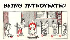 When people think introverts are weirdos, I show them this.