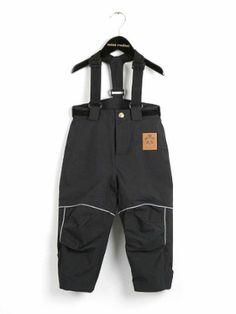 Mini Rodini –  Trousers SIBERIA, black