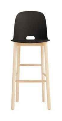 Alfi High-Back Barstool