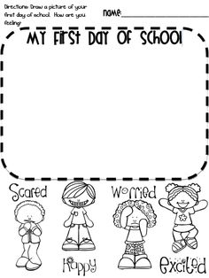 Free Worksheets For Kindergarten First Day Of School With Learning Mrs.Langley Worksheet Wednesday Back To School : Free Worksheets For Kindergarten First Day Of School With Learning Mrs.Langley Worksheet Wednesday Back To School. Preschool First Day, First Day Of School Activities, First Day School, Kindergarten First Day, Beginning Of The School Year, New School Year, School Days, Middle School, Back To School Worksheets