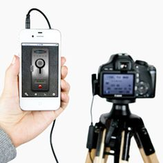 The ioShutter Camera Remote. Turn your iPhone, iPad, or iPod Touch into a intelligent remote trigger for your camera. This would be even better if you could trigger the camera wirelessly via your iPhone. Photography Challenge, Photography Lessons, Photography Camera, Photography Tutorials, Digital Photography, Iphone Photography, Photography Basics, Photography Lighting, Nikon D5200