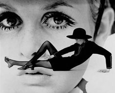 Twiggy by Gosta Peterson for the New York Times, 1967.
