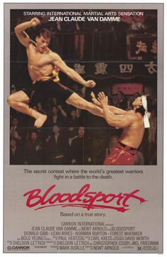 Bloodsport Movie Poster - Internet Movie Poster Awards Gallery