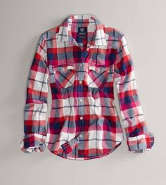 I love Flannel shirts.  So simple, yet so stylish.