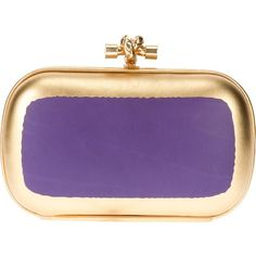 BOTTEGA VENETA box clutch bag ($1,572) found on Polyvore
