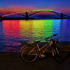 Xiying Rainbow Bridge @ Taiwan